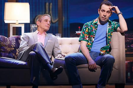 Tony Danza and Rob McClure in Honeymoon in Vegas (Photo: Joan Marcus)