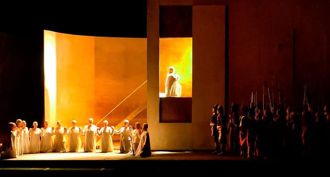 The cast of Dialogues of the Carmelites