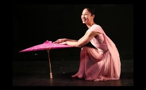 Tuyet Thi Pham in Arts on the Horizon's production of Blossom's Rainbow (Photo: Aram Vartian)