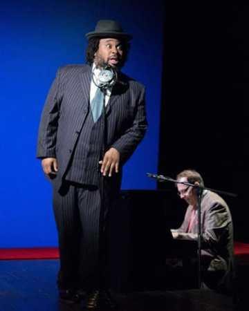 Jacob Ming-Trent and Wayne Barker at the piano. (Photo: Igor Dmitry)