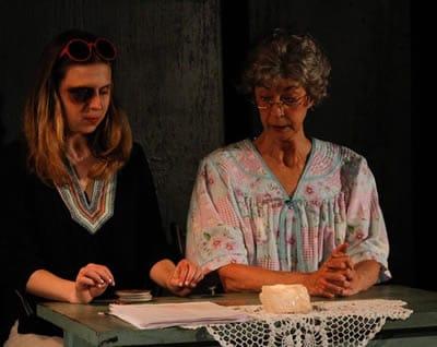 Ann Fraistat and Nancy Blum in God Don' Like Ugly