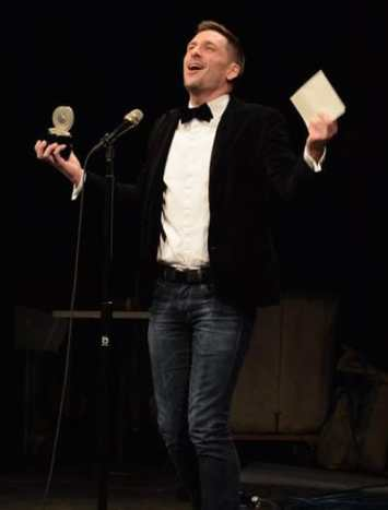 Steven Royal, Outstanding Director of a Musical for Bat Boy: The Musical at 1st Stage (Photo courtesy of theatreWashington