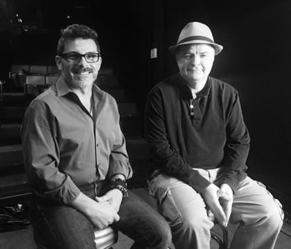 Ferguson playwright Phelim McAleer and director Nick DeGruccio. (Photo courtesy of Ferguson: The Play)