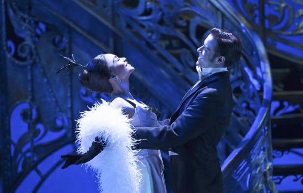 Vanessa Hudgens as Gigi and Corey Cott as Gaston in Gigi (Photo: Margot Schulman)