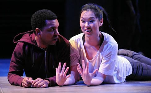 DeLance Minefee, Jeena Yi in Lights Rise on Grace (Photo: Stan Barouh)