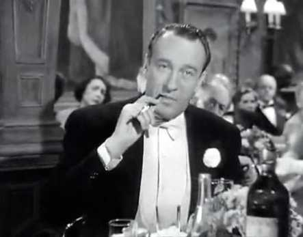 George Sanders as critic Addison Dewitt in All About Eve.