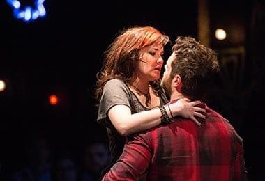 Christine Dwyer (Sara) and Cole Burden (Tom). (Photo: Igor Dmitry)