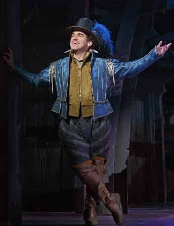 Brian d'Arcy James as Nick Bottom in Something Rotten (Photo: Joan Marcus)