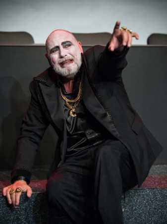 Brian Hemmingsen as Herod in SCENA Theatre's Solome (Photo Mason Summers)