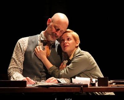 Mitchell Hébert and Kimberly Gilbert in Uncle Vanya (Photo: Danisha Crosby)
