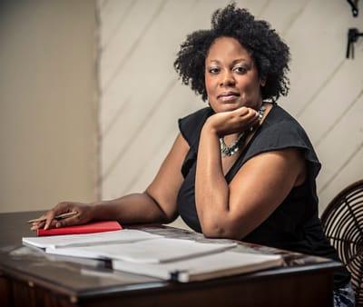 Playwright Jacqueline E. Lawton (Photo: Jason Hornick)