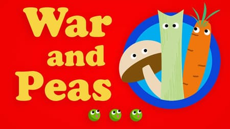 Click for tickets to War and Peas at Capital Fringe