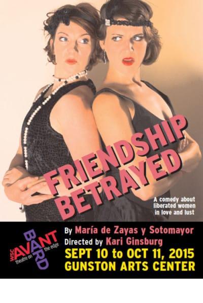 friendship betrayed poster