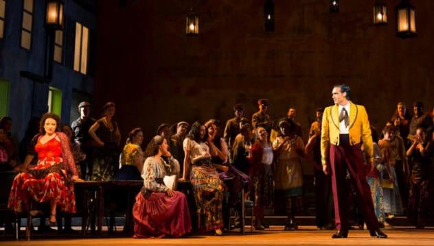 The cast of Carmen from Washington National Opera (Photo: Scott Suchman)