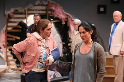 Holly Twyford and Alyssa Wilmoth Keegan in Olney Theatre Center's production of BAD DOG. (Photo: Nicholas Griner)