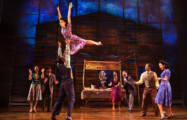 "The cast in a scene from ""Allegiance"" (Photo: Matthew Murphy)"