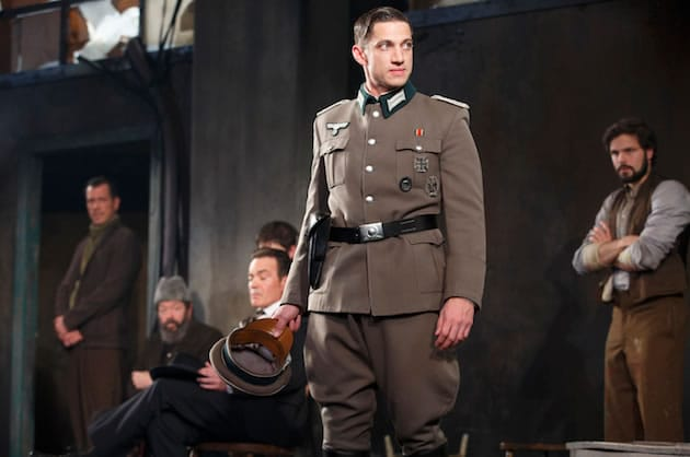 James Carpinello as the Major in Arthur Miller's Incident at Vichy at Signature Theatre, New York. (Photo: Joan Marcus)