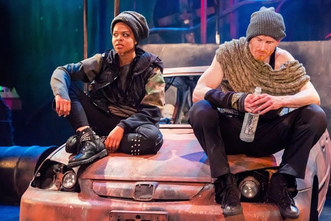 Taylor Robinson as Rosalind and Philip Fletcher as Orlando in As You Like It at Synetic Theater (Photo: Johnny Shryock)