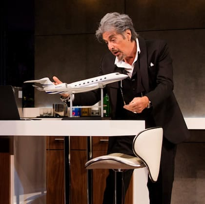 "(l-r) Al Pacino in ""China Doll,"" (Photo: Jeremy Daniel )"