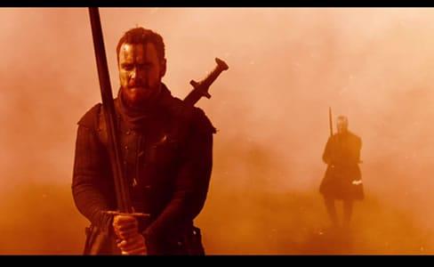Michael Fassbender as Macbeth in the 2015 film