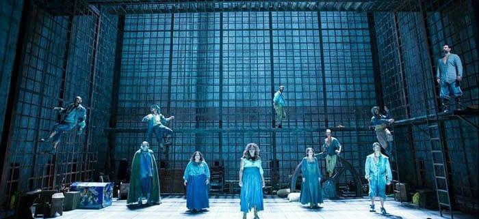 The cast of Man of La Mancha from Shakespeare Theatre Company (Photo: Scott Suchman)