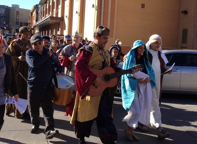 Three Kings Day procession, January 3, 2016 (Photo: Dubraska Vale)