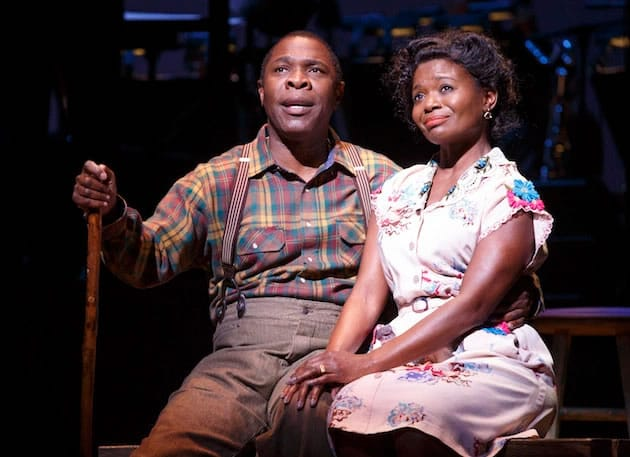 Michael Potts ('Little Joe' Jackson) and LaChanze (Petunia Jackson) Cabin in the Sky from Encores!