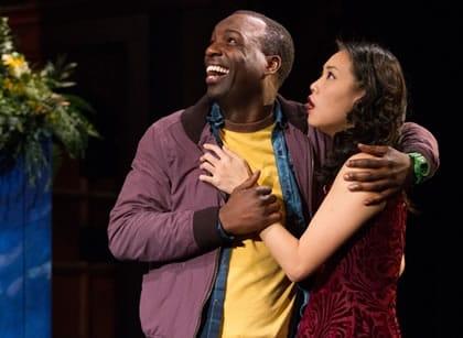 Desmond Bing and Kim Wong in A Midsummer Night's Dream at Folger Theatre (Photo: Teresa Wood)