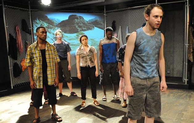 The company of The Promised Land, produced by Mosaic Theater Company of DC. Photo: Stan Barouh)