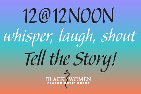 12@12 Noon launches March 14. Click image for details