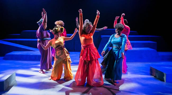 in for colored girls... by Theater Alliance (Photo: C. Stanley Photography)