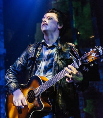 Harrison Smith in American Idiot at Keegan Theatre. (Photo: Cameron Whitman Photography)
