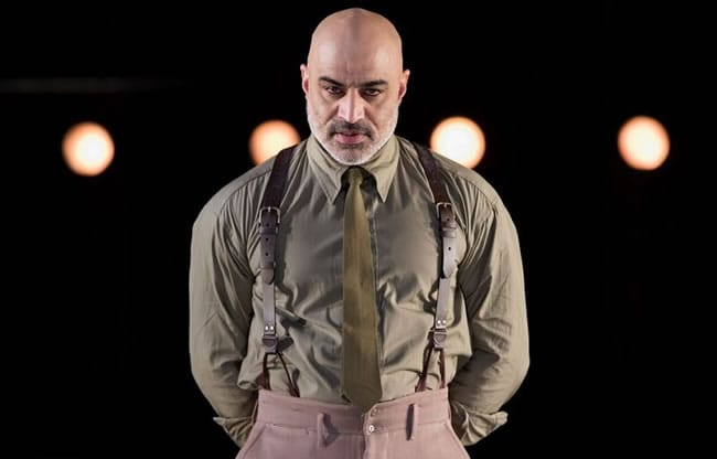 Faran Tahir as Othello in the Shakespeare Theatre Company's production of Othello (Photo: Scott Suchman)