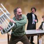 The Gospel According to Thomas Jefferson, Charles Dickens, and Count Leo Tolstoy: Discord at Washington Stage Guild