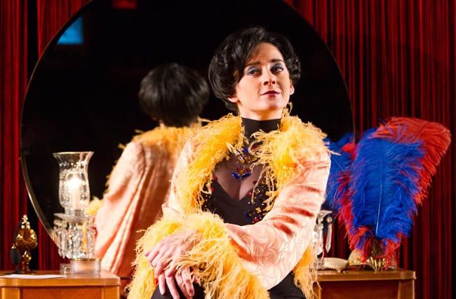 Melissa Wimbish as Josephine Baker in Josephine from Urban Arias (Photo: Teresa Wood)