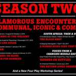 Mosaic's second season: eight plays in 2016-2017