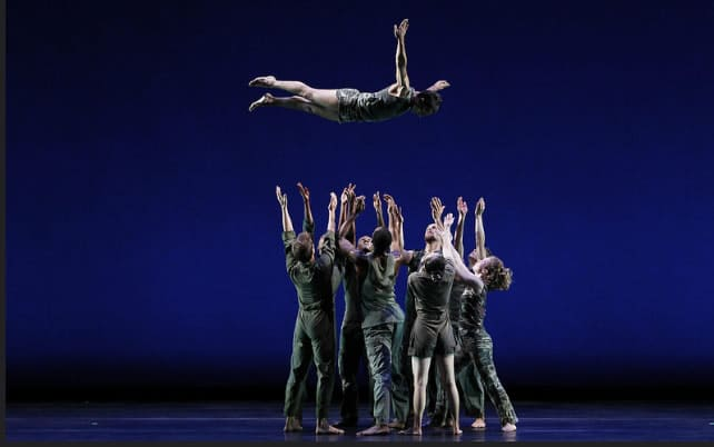 Bill T. Jones Arnie Zane Dance Company,  Continuous D-Man in the Waters at Spoleto Festival 2016 (Photo:  Paul B. Goode)