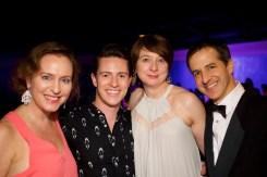 (l-r) Allyson Currin,(Welders), Joe Isenberg, Melissa Flaim
