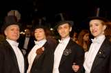 Outdoing Fred Astaire: Mark Jaster, Sabrina Mandell, Alex Vernon, and Sarah Olmstead-Thomas of Happenstance Theatre