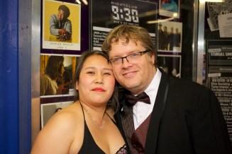 Deb Sivigny (Welders) and Randy Baker (Rorschach)