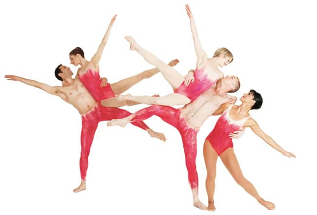 "The Paul Taylor Dance Company performing ""Mercuric Tidings"""