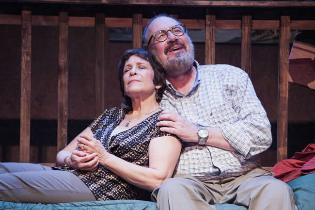 Naomi Jacobson and Rick Foucheux in Another Way Home at Theater J (Photo: C. Stanley Photography)