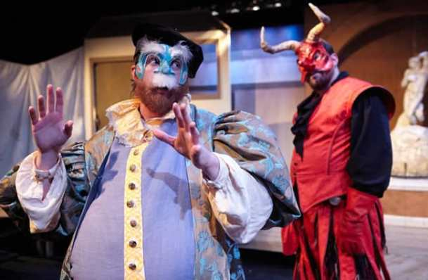 (l-r) Doug Wilder and Matthew Aldwin McGee in The Good Devil (in Spite of Himself) from WSC Avant Bard (Photo: C. Stanley Photography)