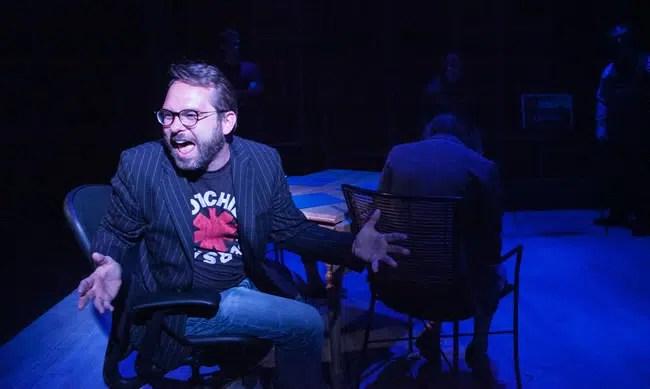 Joe Killiany in The Meth in Method at CulturalDC's Fringe Festival (Photo: C. Stanley Photography)
