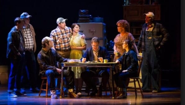 The cast of The Bridges of Madison County (Photo courtesy of The Kennedy Center)