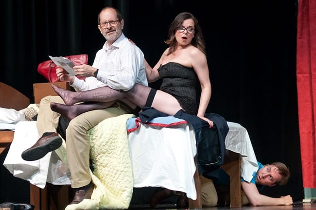 The cast of Do Not Disturb at Capital Fringe