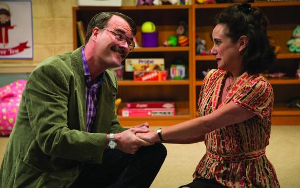 Tim Getman and Susan Rome in Hand to God at Studio Theatre. Photo: Tina Revazi.