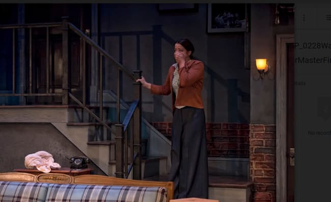 Megan Anderson in Wait Until Dark at Everyman Theatre (Photo: ClintonBPhotography)