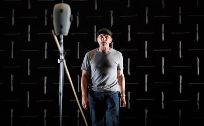 Simon McBurney in 'The Encounter' (Photo: Tristram Kenton)