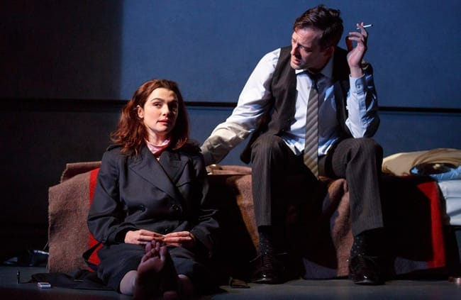 Rachel Weisz and Ken Barnett in David Hare's Plenty (Photo: Joan Marcus)